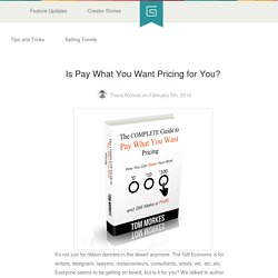 Is Pay What You Want Pricing for You?