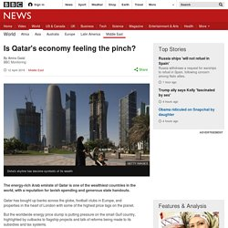 Is Qatar's economy feeling the pinch?