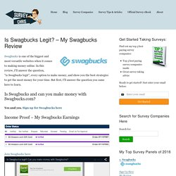 Is Swagbucks Legit? – My Swagbucks Review