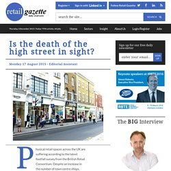 Is the death of the high street in sight?