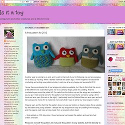 A free pattern for 2012