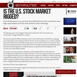 Is the U.S. stock market rigged?