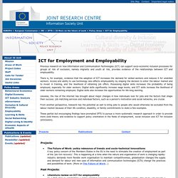 IS UNIT WEB SITE - IPTS - JRC - EC