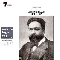 Isaac Albéniz (1869-1909)