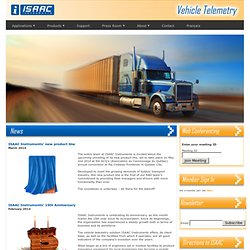 ISAAC Instruments - Vehicle Testing and Fleet Management Solutions