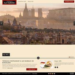 La Isabela Terrace Restaurant in Las Ramblas – Hotel 1898 Barcelona