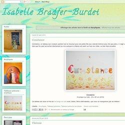 Isabelle Bradfer-Burdet: Acryliques