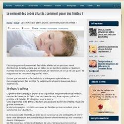Isabelle Salomon - Comment poser des limites à un bambin allaité?