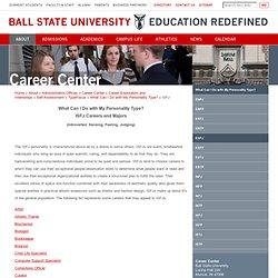ISFJ - Ball State University