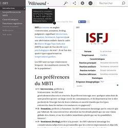 ISFJ (protecteur)