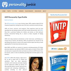 ISFP Personality Type Profile