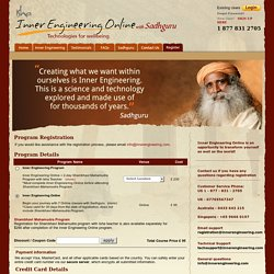 Isha Inner Engineering Online