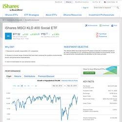 iShares MSCI KLD 400 Social ETF