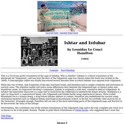 Ishtar and Izdubar Index