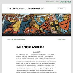 The Crusades and Crusade Memory