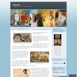 ISIS Thermouthis - the Rod of Asclepius - Sophia - Wisdom - the Serpent & the Tree of Knowledsge