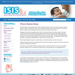 ISIS : Where Babies Sleep - ISIS Online