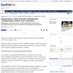 Újjáélednek a Győr környéki iskolakertek: `komposztálás nélkül nincs iskolakert´