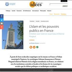 L'islam et les pouvoirs publics en France