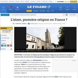 L'islam, première religion en France?