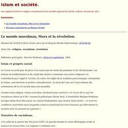 Islam et société.