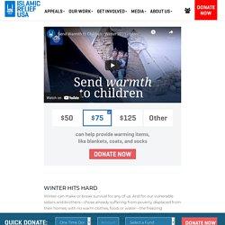 Islamic Relief Winter Aid