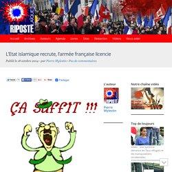 L'Etat islamique recrute, l'armée française licencie
