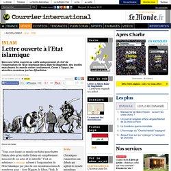 Lettre ouverte à l'Etat islamique