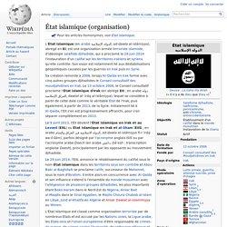 État islamique (organisation)