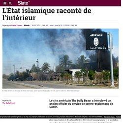 L'État islamique raconté de l'intérieur