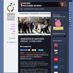 Islamisation de Saint-Denis : circulez, y a rien à voir !