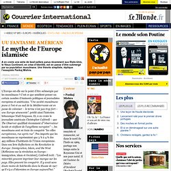 Le mythe de l'Europe islamisée