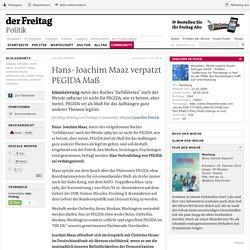 Islamisierung ǀ Hans- Joachim Maaz verpatzt PEGIDA Maß