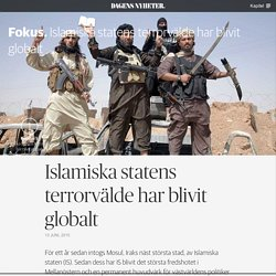 DN Fokus – Islamiska statens terrorvälde har blivit globalt