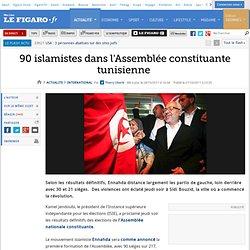 International : 90 islamistes dans l'Assemblée constituante tunisienne