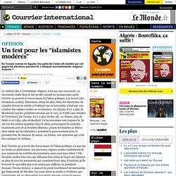 """Un test pour les """"islamistes modérés"""""""