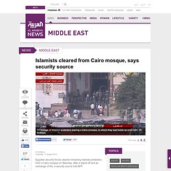 Egyptian-security-forces-peacefully-enter-besieged-Cairo-mosque-
