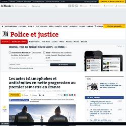 Les actes islamophobes et antisémites en nette progression au premier semestre en France