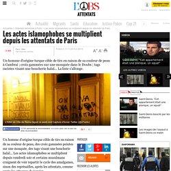 Les actes islamophobes se multiplient depuis les attentats de Paris