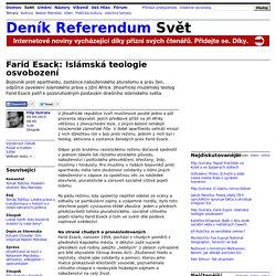 Filip Outrata: Farid Esack: Islámská teologie osvobození