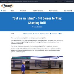 """""""Out on an Island"""" - 1v1 Corner to Wing Shooting Drill"""