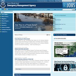 State of Rhode Island: Emergency Management Agency: