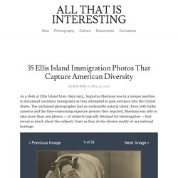 Ellis Island Immigration Photos: We're All Immigrants