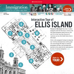 Site webquest : Ellis Island Interactive Tour With Facts, Pictures, Video