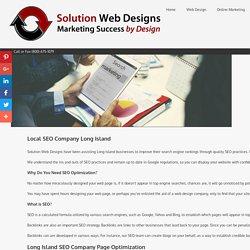 SEO Long Island Search Engine Optimization Company