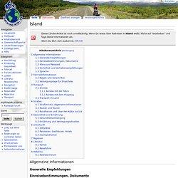 Island – Radreise-Wiki