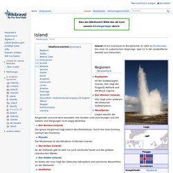 Island Reiseführer – Wikitravel