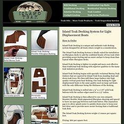 Island Teak - Custom Teak Milling.