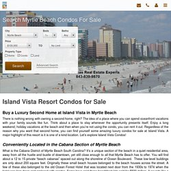 Island Vista Condos for Sale in Myrtle Beach
