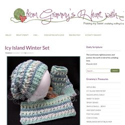 Icy Island Winter Set - from Grammy's Heart, with Love